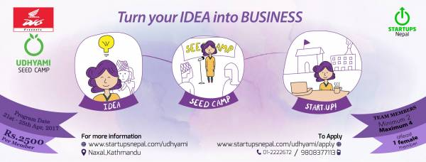 Udhyami Seed Camp: Facilitating the next generation of Entrepreneurs in Nepal